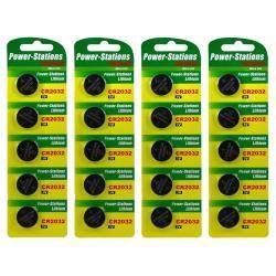 20x OEM litiový knoflíkový článek / baterie / Knopfbaterie CR2032 3V
