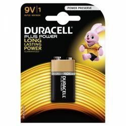 baterie Duracell Plus Power Typ PP3 9V blistr originál