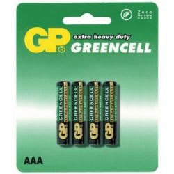 baterie GP AAA GreenCell 24G R03 blistr