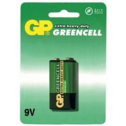 baterie GP GreenCell 1604G 9V blistr