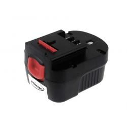 baterie pro Black & Decker šroubovák HP126F2K Firestorm 2000mAh