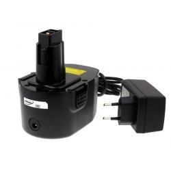 aku baterie pro Black & Decker Typ Pod Style Power Tool PS140 Li-Ion vč. nabíječky