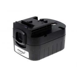 aku baterie pro Black & Decker vrtačka HP12 japonské články