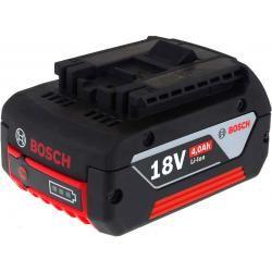 baterie pro Bosch příklepový šroubovák GDR 18 V-LI MF Professional 4000mAh originál