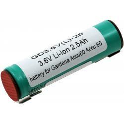baterie pro Gardena nůžky na trávu 8808 Li-Ion