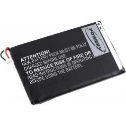 baterie pro Garmin Nüvi 2660LMT