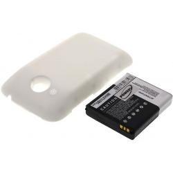baterie pro HTC Desire C bílá 2200mAh
