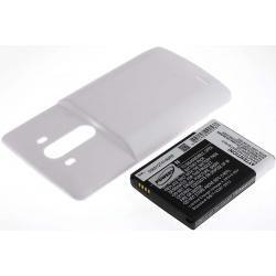 aku baterie pro LG G3 bílá 6000mAh