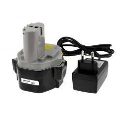 baterie pro Makita příklepová vrtačka 8433DWDE Li-Ion vč. integrovaného nabíječe