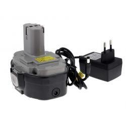 aku baterie pro Makita příklepový vrtací šroubovák 8444DWFE Li-Ion vč. integrovaného nabíječe