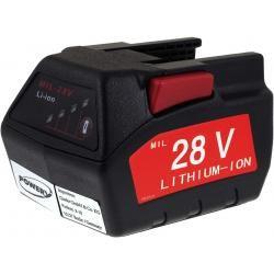 baterie pro Milwaukee bruska přímá HD28SG 2000mAh