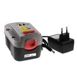 aku baterie pro nářadí Black & Decker šroubovák HP146F2 Li-Ion vč. nabíječky