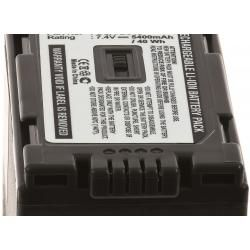 baterie pro Panasonic NV-DS29 5400mAh