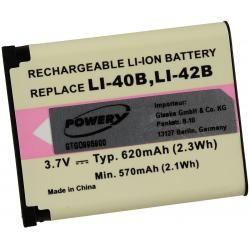 baterie pro Pentax Optio M40