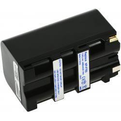 baterie pro Professional Sony kamera HDR-FX1E 4600mAh stříbrná