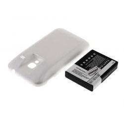 baterie pro Samsung Galaxy Ace Plus 3 2400mAh bílá