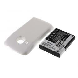 baterie pro Samsung Galaxy Mini 2 2400mAh bílá