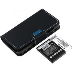 baterie pro Samsung Galaxy S IV Duos 5200mAh s Flip-Cover