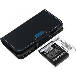baterie pro Samsung GT-I9502 5200mAh s Flip-Cover