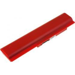 aku baterie pro Samsung NP-N310-KA01NL 6600mAh červená