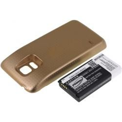 baterie pro Samsung SM-G800F 3800mAh Gold