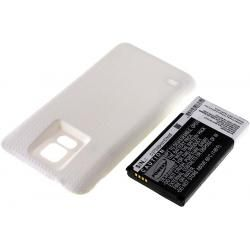 baterie pro Samsung SM-G900 bílá 5600mAh