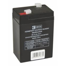 baterie pro solární systémy, nouzové osvětlení, zabezpečovací systémy 6V 4Ah