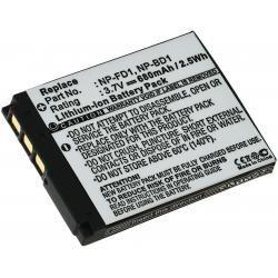 aku baterie pro Sony Cyber-shot DSC-T2/B