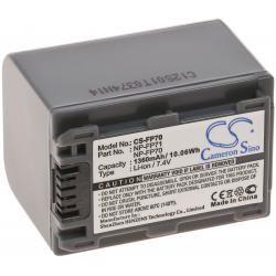 aku baterie pro Sony DCR-DVD203E 1500mAh