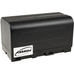 aku baterie pro Sony DCR-VX2000 4600mAh