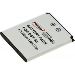 baterie pro Sony-Ericsson W880i