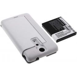 baterie pro Sony Ericsson Xperia LT29i 3400mAh + Flip Cover bílá