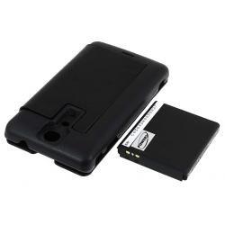 baterie pro Sony-Ericsson Xperia LT29i 3400mAh + Flip Cover černá