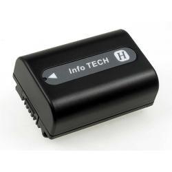 aku baterie pro Sony HDR-CX12 750mAh