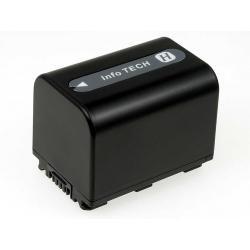 baterie pro Sony HDR-CX6 1500mAh