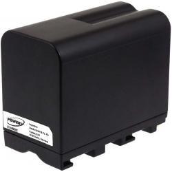 baterie pro Sony HDR-FX7 7800mAh černá