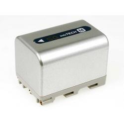 baterie pro Sony HDR-SR1e 3400mAh stříbrná