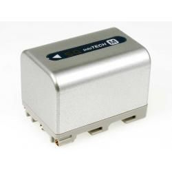 baterie pro Sony Videokamera DCR-DVD100E 3400mAh stříbrná