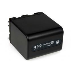 baterie pro Sony Videokamera HDR-HC1E 4200mAh antracit s LED indikací