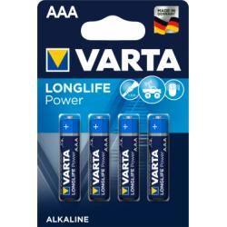 baterie Varta Typ AAA 4ks balení originál