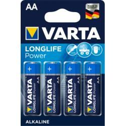 baterie Varta Typ LR6 4ks balení originál