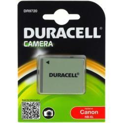 Duracell aku baterie pro Canon Digital IXUS 95 IS originál