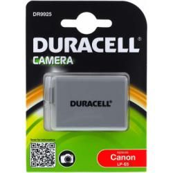 Duracell baterie pro Canon EOS 500D originál