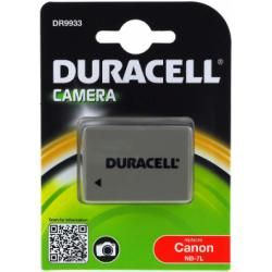 Duracell aku baterie pro Canon PowerShot G10 originál