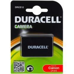 Duracell baterie pro Canon Typ LP-E12 originál