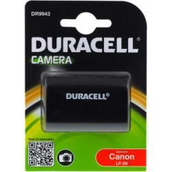 Duracell aku baterie pro Canon Typ LP-E6 originál