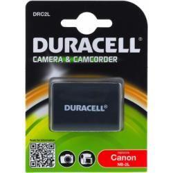 Duracell baterie pro Canon Videokamera Typ BP-2LH originál