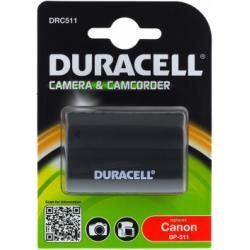 Duracell baterie pro Canon Videokamera ZR50MC originál