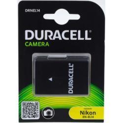 Duracell aku baterie pro Nikon D5100 DSLR 950mAh originál