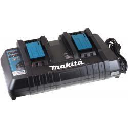 Dvojitá nabíječka Makita Typ DC18RD pro Blockaku 9,6V-14,4V NiMH / 14,4V-18V Li-Ion aku originál